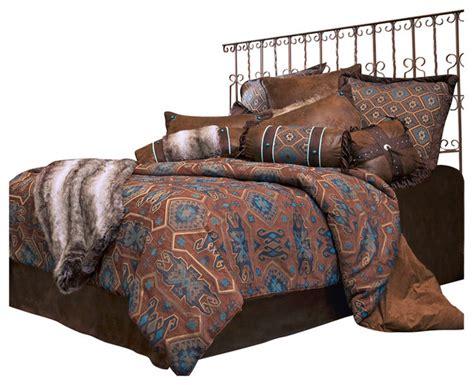 southwestern comforter sets king saguaro desert bedding set king southwestern