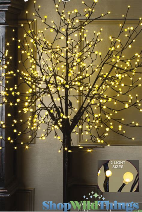 small lighted tree for outdoors city lights led tree 8 600 lights indoor