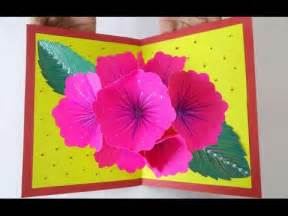 craft ideas for greeting cards pop up greeting card ideas amazing diy handmade