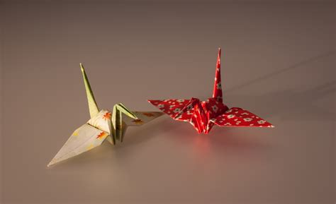 japanese origami cranes file cranes made by origami paper jpg