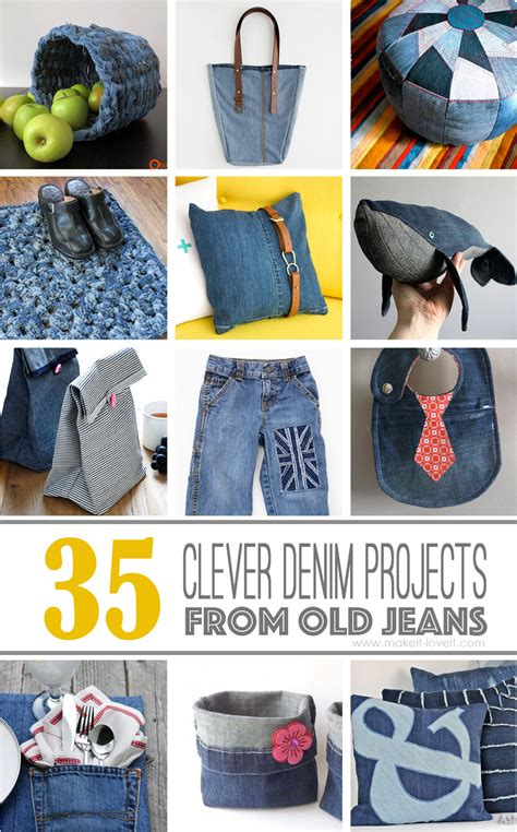 denim crafts projects 35 clever projects that ll make it easier to part ways