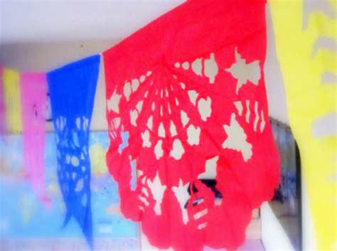 mexican paper crafts make papel picado tissue paper flags 187 dollar store crafts