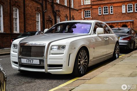 Rolls Royce Limited by Rolls Royce Mansory White Ghost Limited 25 August 2016