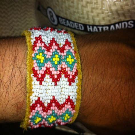 lazy stitch beading lazy stitch beaded bracelet circle 8 beaded hatbands