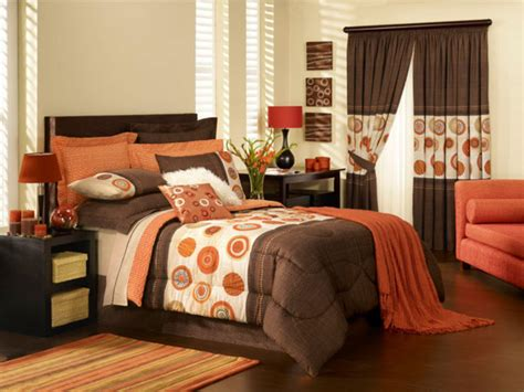 orange and brown bedroom ideas fabulous orange bedroom decorating ideas and designs for
