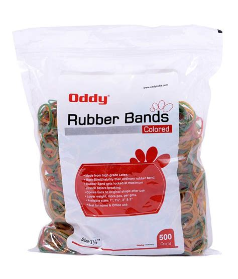 order rubber st india oddy stretchable rubber hair band buy at low price