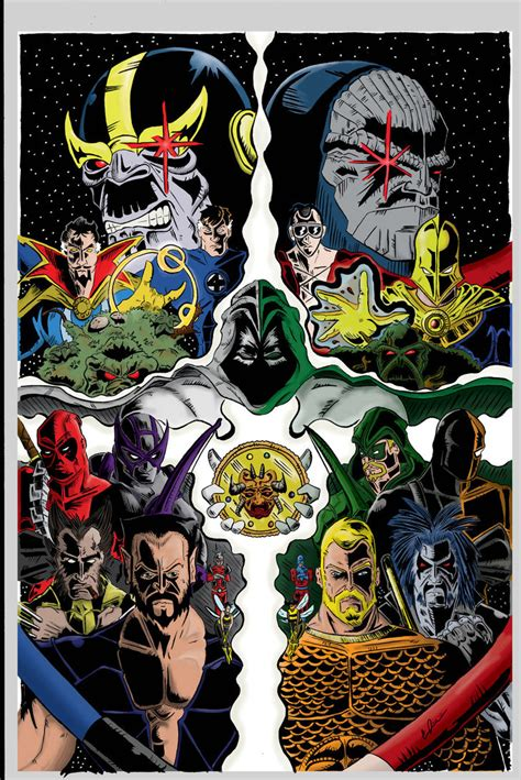comics vs marvel vs dc comic color by coreyjdavis on deviantart