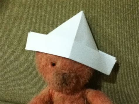 how to make an origami sailor hat how to make an origami sailor hat