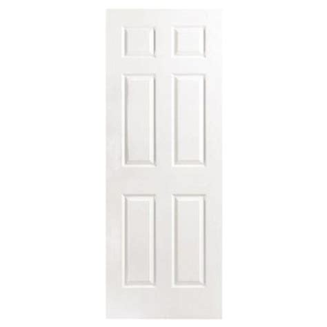 home depot white interior doors masonite 30 in x 80 in textured 6 panel hollow