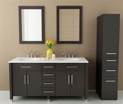 59 inch sink bathroom vanity avola 59 inch sink vanity bathroom vanity espresso