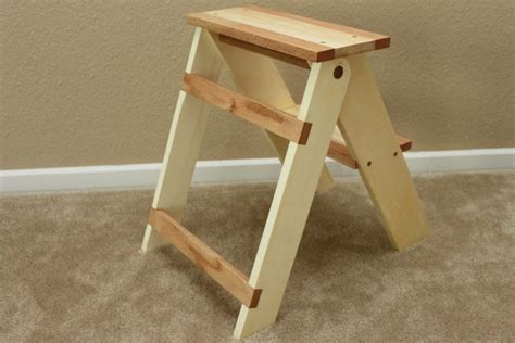 woodworking plans step stool pdf diy folding wood step stool plans stool