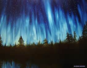 bob ross northern lights painting for sale 90 best bob ross painting images on bob ross