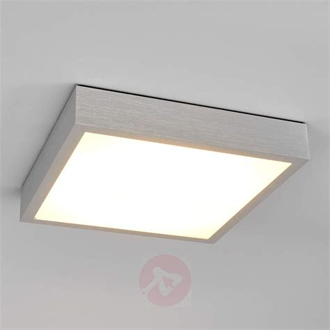 Ceiling Lights by Finnian Square Led Ceiling Light Aluminium Lights Co Uk
