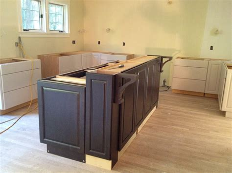 building a kitchen island with cabinets photo 5 jpg