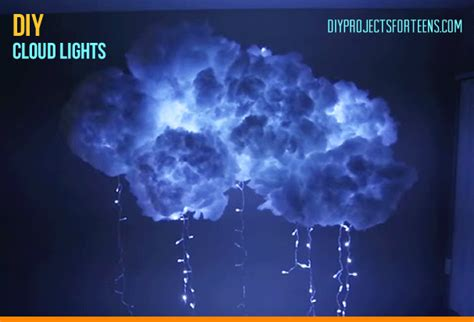 cool light ideas how to make a diy cloud light diy projects for
