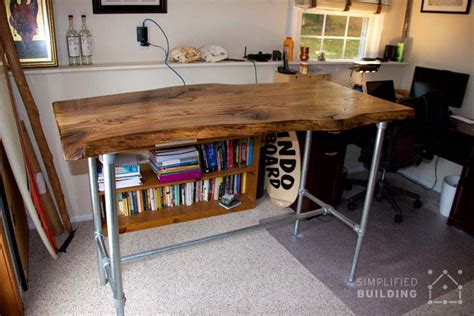 standing desk ideas 37 diy standing desks built with pipe and kee kl