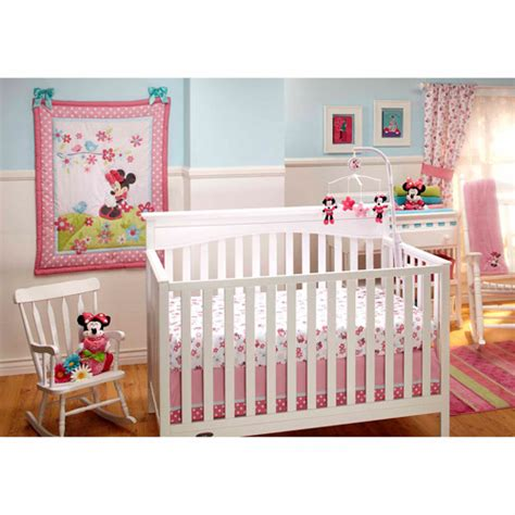minnie mouse bedding for cribs disney baby bedding sweet minnie mouse 3 crib