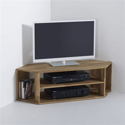 meuble tv d angle ch 234 ne massif edgar la redoute interieurs la redoute