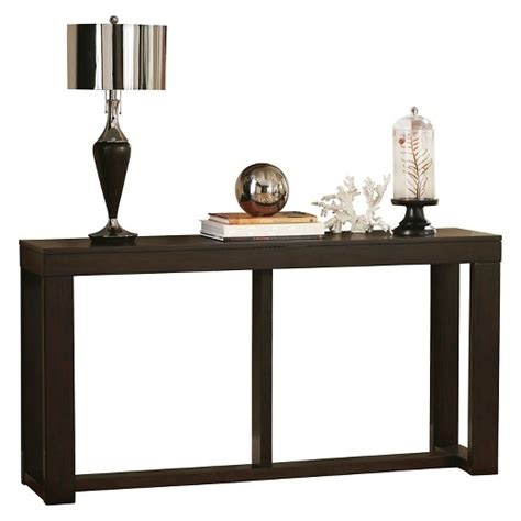 watson sofa table brown signature design by