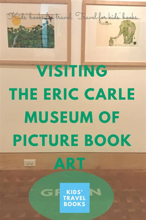 picture book museum visiting the eric carle museum of picture book