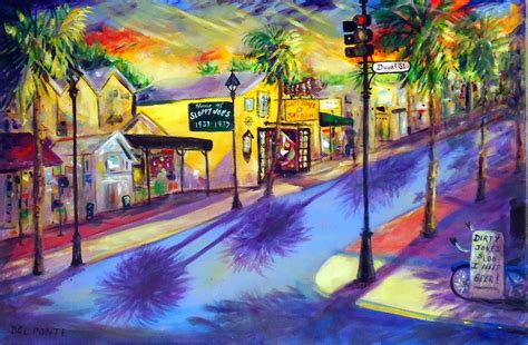 key west painting ponte style time professional artist key west