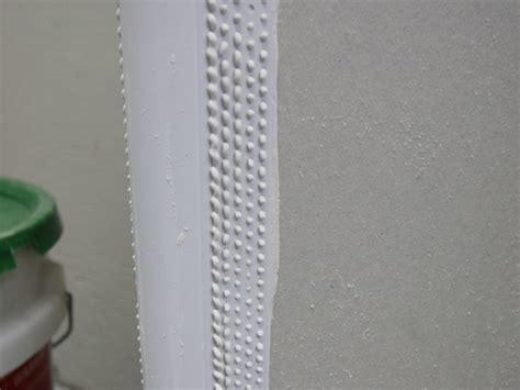 how to mud a corner bead mud set 190 quot r bullnose corner bead trim tex drywall
