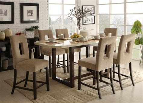 high top dining table and chairs dining room counter height dinette sets room