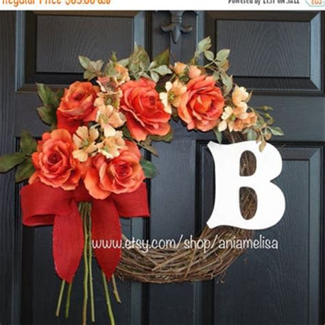 wreath for sale fall wreaths sale summer wreath gift from aniamelisa on etsy