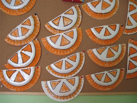 orange craft for crafts actvities and worksheets for preschool toddler and