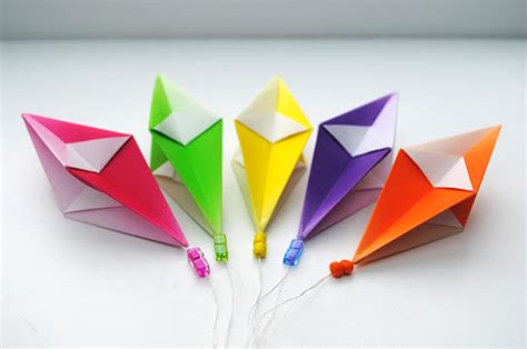 hanging origami decorations origami hanging decorations craft ideas lan anh