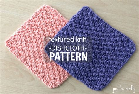 free knitting patterns for dishcloths just be crafty knit crochet and practical crafts