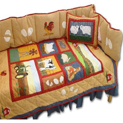 farm animal crib bedding 48 best images about baby on baby farm animals
