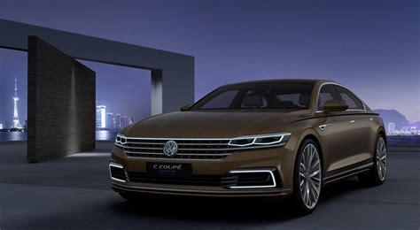 Is Volkswagen Luxury by Volkswagen C Coupe Concept Luxury Limo Revealed Photos