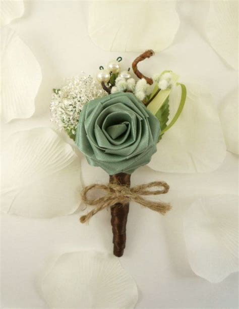origami boutonniere origami boutonniere ecology style groom