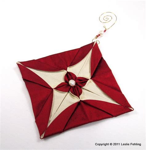 origami ornaments patterns everyday artist silk origami ornaments