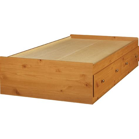 bed pine essential home belmont mates bed honey pine