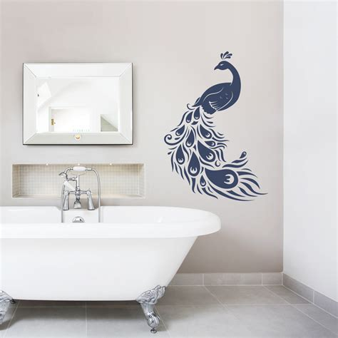 peacock wall sticker peacock wall decal roselawnlutheran