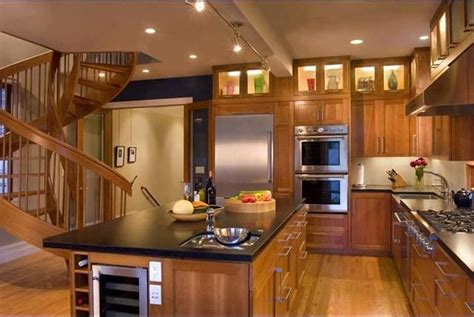 amazing kitchen designs wood kitchen cabinets the display with