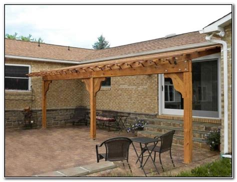 how to build a pergola attached to house amazing wood pergola attached to house garden landscape