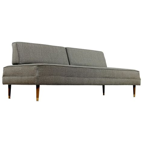 mid century modern sofa for sale restored mid century modern daybed sofa for sale at 1stdibs