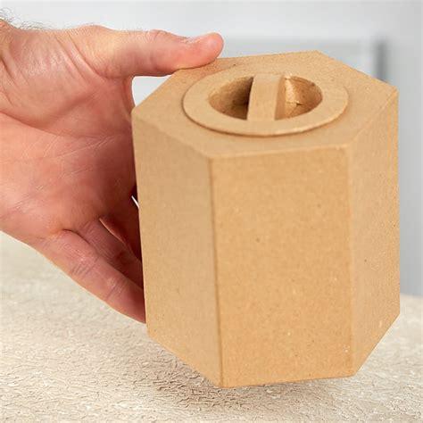 paper mache craft supplies paper mache hexagon box paper mache basic craft