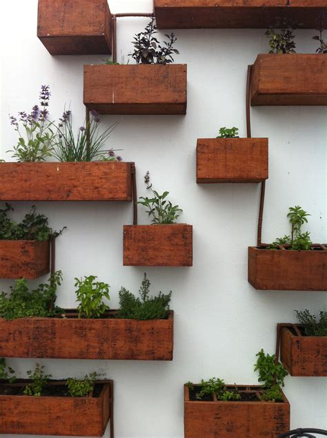garden wall planter 19 indoor herb planter ideas place to call home