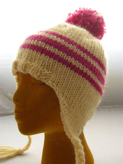 knit hat with ear flaps free patterns earflap hat knitting pattern a knitting