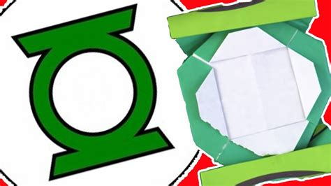 how to make origami lanterns how to make the green lantern logo from origami easy