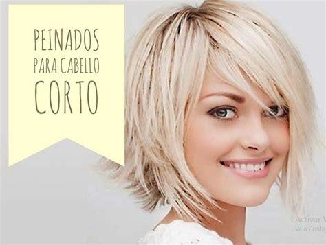 peinados pelo corto mujer paso a paso peinados para pelo corto con ideas paso a paso
