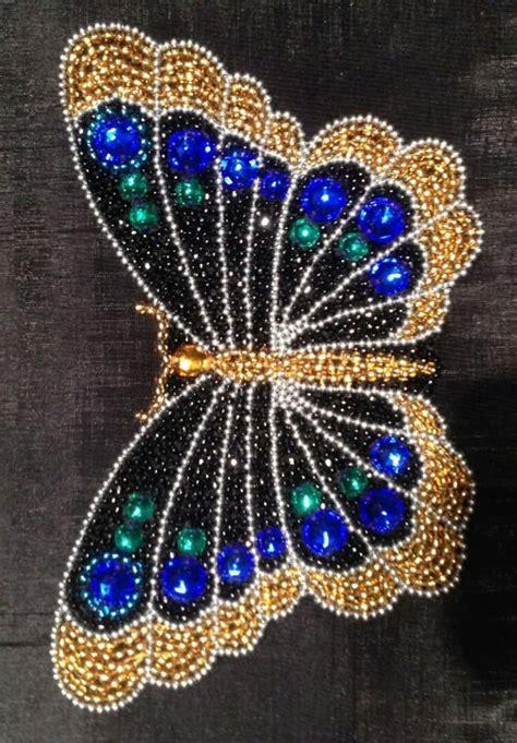 beaded butterfly pattern butterfly beading patterns