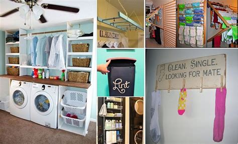 storage room ideas 40 clever laundry room storage ideas home design