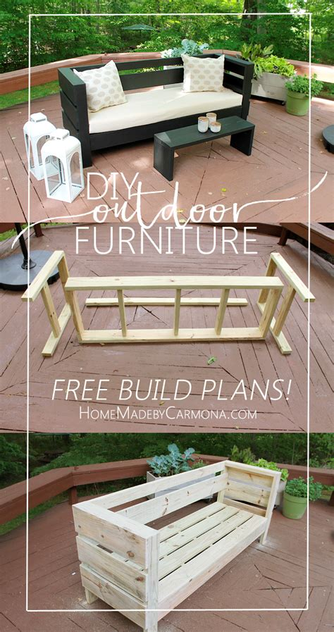 free patio furniture outdoor furniture build plans home made by carmona