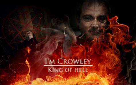 king of hell i m crowley king of hell by smashedwindow on deviantart