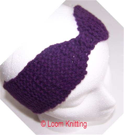 loom knit headband loom knitting headband
